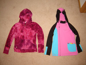 Youth's Limeapple Bubble and Sport Hoodies - size 14