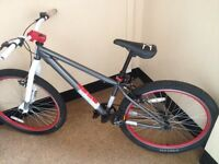 X rated mesh dirt/jump bike