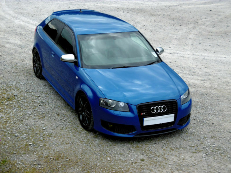 audi s3 2 0t fsi 2007 quattro sprint blue px swap low miles in accrington lancashire gumtree. Black Bedroom Furniture Sets. Home Design Ideas