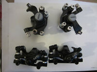 Disk Brake Calipers with pads $20 each. $30 per pair