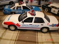 Auto police Vancouver Ford Crown Victroria diecat 1/18 die cast