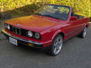 1988 BMW 325i 2.5L Convertible in mint condition