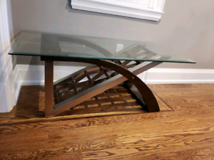Coffee table and side table