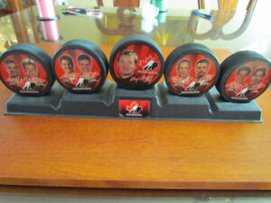 Collection 5 Rondelles Hockey McDonalds Olympique 1998 Gretzky