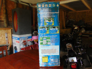 steel pro frame pool  ....10 by 30 h  brand new still in box