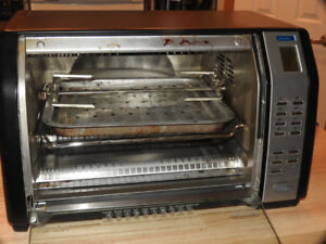 Black & Decker Toaster Oven with Rotisserie