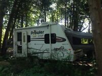 FOR RENT-hybrid trailer with A/C!