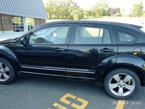 2010 Black Dodge Caliber SXT