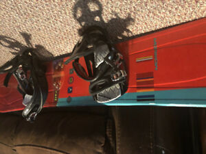 Morrow Snowboard + bindings & boots