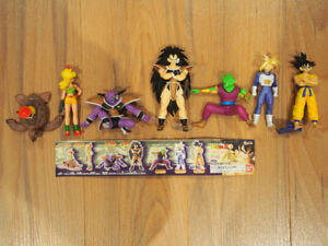 Dragon Ball Z DBZ HG Part Gashapon Set Bandai Figures Rare