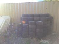 Scrap Rims & Tires