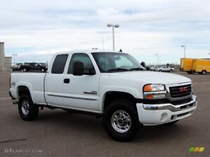 2007 gmc 2500 comes with new winter tires!