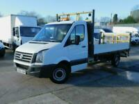 Volkswagen Crafter 2.0TDi 136PS CR35 LWB DROPSIDE 1 OWNER F/S/H