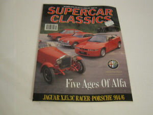 Supercar Classics, October 1990:  Alfa Romeo, 914/6, Jaguar