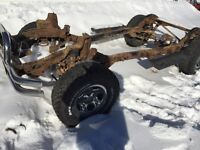 2002 Jeep TJ Frame and Drivetrain
