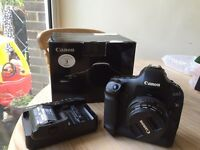 Canon EOS 1D Mark IV Digital SLR 50mm F1.4 Prime + Extra Battery body