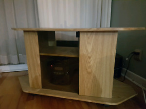 Meuble tv couleur bois / Wooden color tv furniture