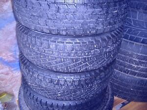 SET OF CONTINENTAL EXTREME WINTER  P175/70R13in. TIRES & RIMS