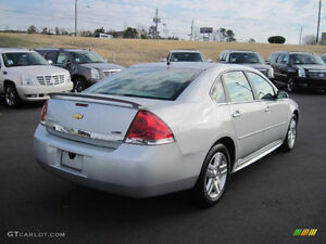 2011 Chevrolet Impala Silver Sedan