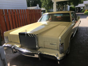 Lincoln 1978 à vendre. Excellente condition.