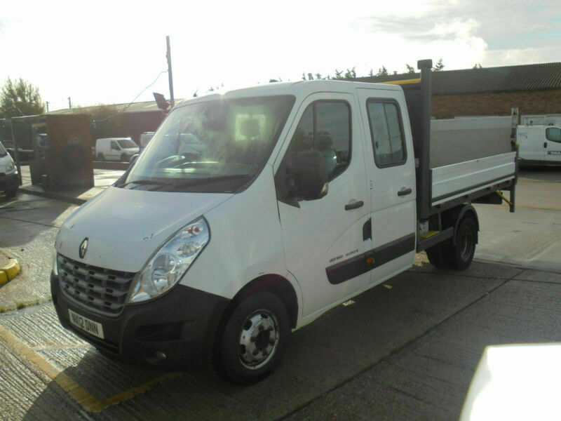 2012 Renault Master 2 3 Dci 150 Ml35 Mwb Double Cab