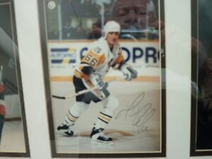 mario lemieux-glen sather and brian trottier autograph Kitchener / Waterloo Kitchener Area image 5