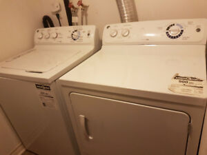 WASHER & DRYER - GE side by side