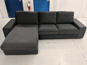 IKEA KIVIK with interchangeable Chaise Lounge. FREE DELIVERY
