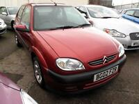 2002 02 Citroen Saxo 1.1i Desire 3 Door 79K PX to Clear Met Red