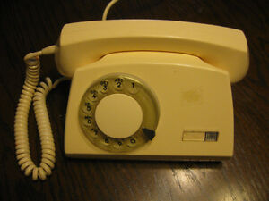 Telkom rotary (dial) phone, unique style Windsor Region Ontario image 1