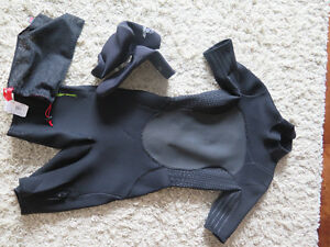 MEC Size 8 women's wetsuit and unisex size 7 water shoes
