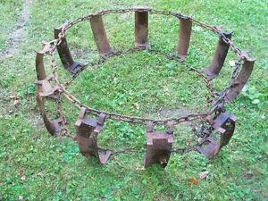 Chaines pour pneus de tracteur