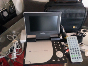 "Initial 7"" TCT Monitor Portable DVD Player"