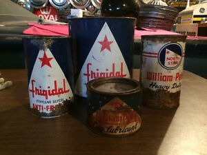 North Star oil cans