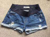 Maternity Shorts - New Look Size 12