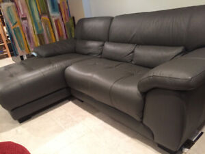 Graphite Grey Sofa with Right-Arm Facing Chaise *Mint Condition*
