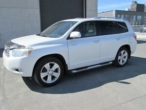 TOYOTA HIGHLANDER LIMITED 2008 7 PASSAGERS CUIR CAMERA DE RECUL