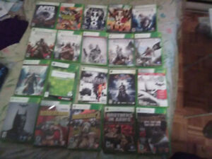 Xbox 360 Games for sale. Over 120