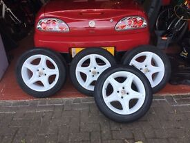 MGF or TF alloy wheels