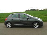 PEUGEOT 207 1.4 16v SE 5DR GREY - LOW MILEAGE - IDEAL 1ST CAR