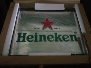 Brand New Large Heineken Mirror