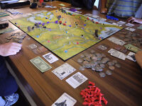 Board game : Railways of the World with event deck expansion