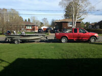 2003 Ford F-150 Pickup Truck and Boat Package