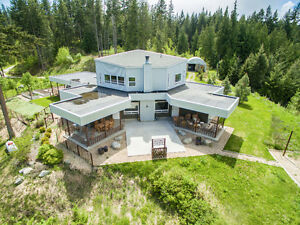 Stunning luxury home situated on 10.65 acres