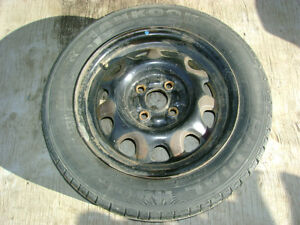 Hankook All Season Tire w/Rim - Used