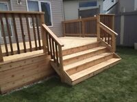Decks , Fences , Finishing , Framing , Kitchens , flooring