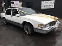 CADILLAC Deville Sedan 4.9 V8 White American Automatic 6 Seater 1991 (H)