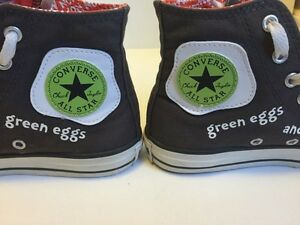 Converse Dr. Seuss green eggs and ham Kitchener / Waterloo Kitchener Area image 4