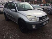 2001 TOYOTA RAV 4 2.0 NV 4 X 4 LOW MILES 12 MONTHS MOT HIGH SPEC