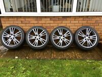 """Ford, Volvo, Jaguar 18"""" Alloys, Alloy Wheels and Tyres"""